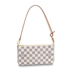 Louis Vuitton Damier Azur Pochette purse